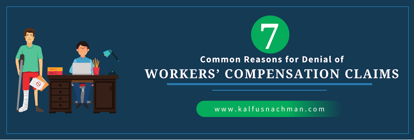 7 Common Reasons for Denial of Workers' Compensation Claims
